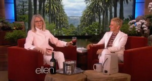 Diane Keaton talks Tantric sex on Ellen