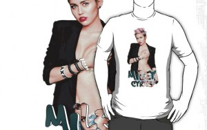 Miley Cyrus sex t-shirt