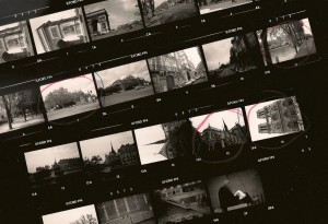 Paris contact sheet
