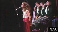 "Gilda sings ""Honey Touch Me"""