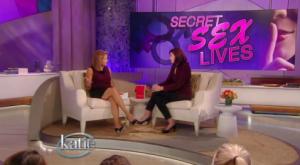 "Suzy Spencer discusses ""Secret Sex Lives"" with Katie Couric"